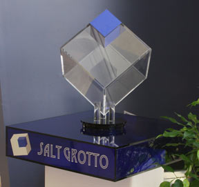 3D Salt Grotto Logo
